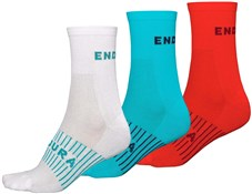 Product image for Endura Coolmax Race Womens Socks (Triple Pack)