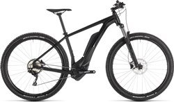 """Product image for Cube Reaction Hybrid Pro 500 Black Edit 29"""" - Nearly New - 21"""" 2019 - Electric Mountain Bike"""