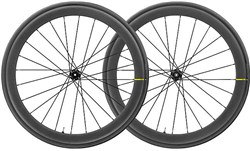 Product image for Mavic Cosmic Pro Carbon UST Disc Clincher Road Wheelset Only (No Tyres)
