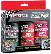 Product image for Finish Line Bike Care Summer Value Pack