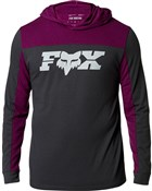 Fox Clothing General Hooded Tech Long Sleeve Jersey