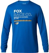 Product image for Fox Clothing Analog Long Sleeve Tech Tee