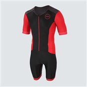 Zone3 Aquaflo+ Short Sleeve Full Zip Trisuit