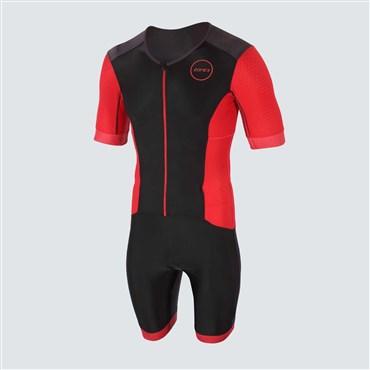 Zone3 Aquaflo+ Short Sleeve Full Zip Trisuit