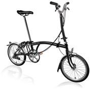 Brompton H6L - Black 2020 - Folding Bike