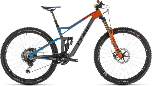 "Cube Stereo 150 C:68 Action Team 29"" - Nearly New - 18"" 2019 - Enduro Full Suspension MTB Bike"