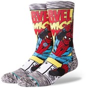 Product image for Stance Spiderman Comic Crew Socks
