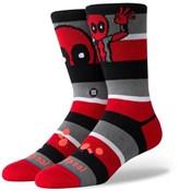 Stance Deadpool Stripe Crew Socks