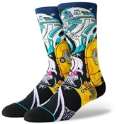 Product image for Stance Warped R2D2 Star Wars Crew Socks