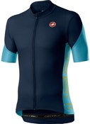 Product image for Castelli Entrata V Short Sleeve Jersey