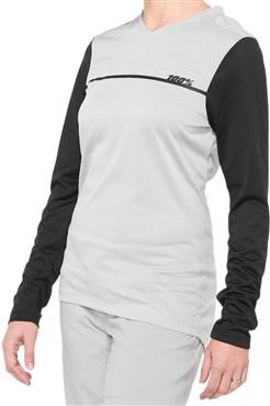 100% Ridecamp Womens Long Sleeve Jersey