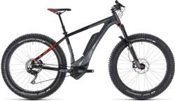 "Cube Nutrail Hybrid 500 Fat Bike - Nearly New - 17"" 2019 - Electric Mountain Bike"