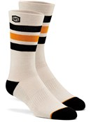 100% Stripes Casual Socks