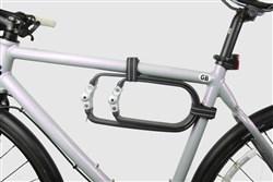 Litelok Twin Flexi U Lock - Sold Secure Silver