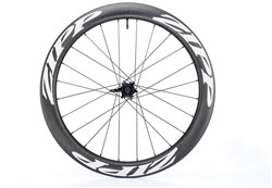 Product image for Zipp 04 Carbon Clincher Tubeless 6 Bolt Disc Brake Front Road Wheel