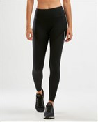 Product image for 2XU Mid-Rise Run Dash Line Womens Tights