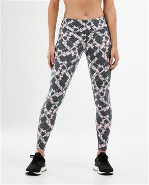 2XU Print Fitness Mid Rise Womens Tights