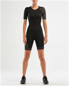 Product image for 2XU Compression Sleeved Womens Trisuit