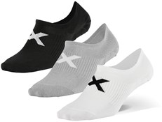 2XU Invisible Socks 3 Pack