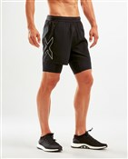 Product image for 2XU XVENT 5 Inch 2 in 1 Compression Shorts