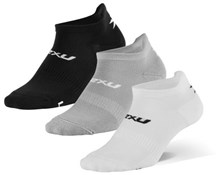 Product image for 2XU Ankle Socks 3 Pack