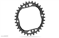 Product image for absoluteBLACK MTB Oval Chainring 104 for 12sp Shimano HG Chain