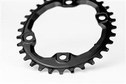 absoluteBLACK MTB Oval XT M8000/MT700 for 12sp Shimano HG Chain
