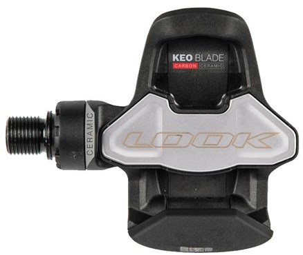 Look KEO Blade Carbon Ceramic Bearing Ti Axle with KEO Cleat 16NM with 12NM Spare