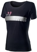 Castelli Logo Womens Short Sleeve Tee