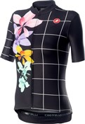 Castelli Fiorita Short Sleeve Womens Jersey