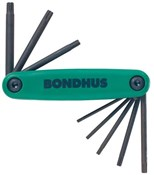 Product image for Bondhus TORX Fold Up Set