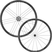 Campagnolo Bora WTO 33 Dark Label 2-Way Fit Clincher Wheelset