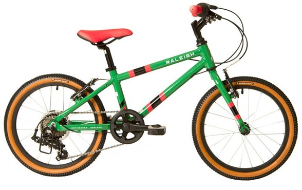 Raleigh Pop 18 Green 2021 - Kids Bike