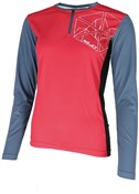Product image for XLC Flowby Long Sleeve Womens Jersey JE-S22