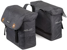 Product image for XLC Luxus Double Pannier Bag Set BA-S88