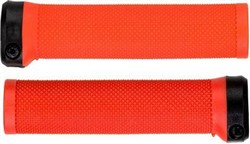 Brand-X Knurled Lock On Handlebar Grips