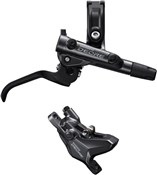 Product image for Shimano Deore BR-M6100 2 pot calliper assembly post mount BL-M6100 Lever Brake Set