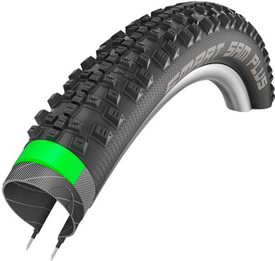 "Schwalbe Smart Sam Plus Performance Snakeskin GreenGuard Double Denfence ADDIX Wired 26"" Tyre"