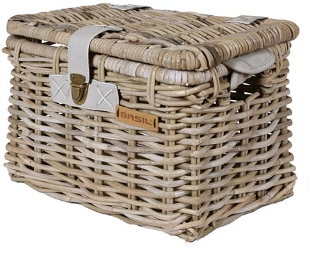 Basil Denton Rattan Bike Basket