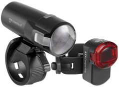Product image for AXA Bike Security Compactline 20 Lux USB Light Set