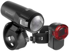 Product image for AXA Bike Security Compactline 35 Lux USB Light Set