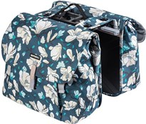 Product image for Basil Magnolia Double Pannier Bag MIK