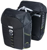 Product image for Basil Miles Double Pannier Bag MIK