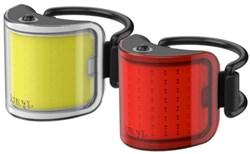 Knog Cobber Lil USB Rechargeable Twinpack Light Set