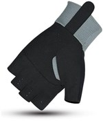 ETC Vale Long Cuff Track Mitts / Short Finger Cycling Gloves