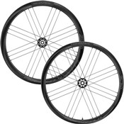 Product image for Campagnolo Shamal Carbon Disc 2-Way Tubeless Wheelset
