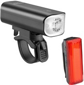 Product image for Ravemen LR500S Front / TR20 Rear  USB Rechargeable Twinset Light Set