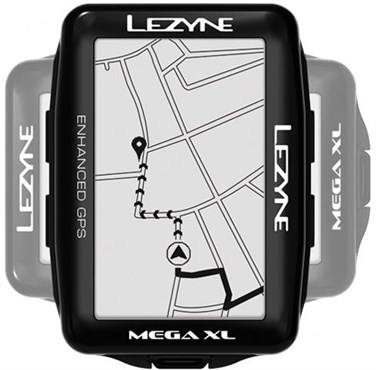 Lezyne Mega XL GPS Cycling Computer Smart Loaded