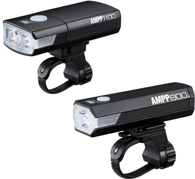 Cateye Ampp 1100 & Ampp 800 Combo Bike Light Set