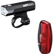 Cateye Ampp 800 & Rapid X2 Kinetic Light Set